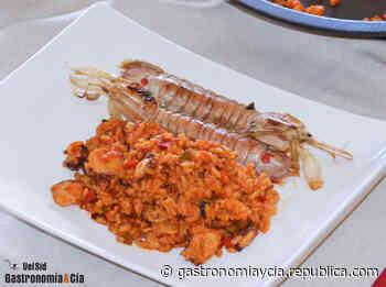 Arroz en paella con pulpo y galeras, una receta marinera fácil y deliciosa para disfrutar - Gastronomía y Cía