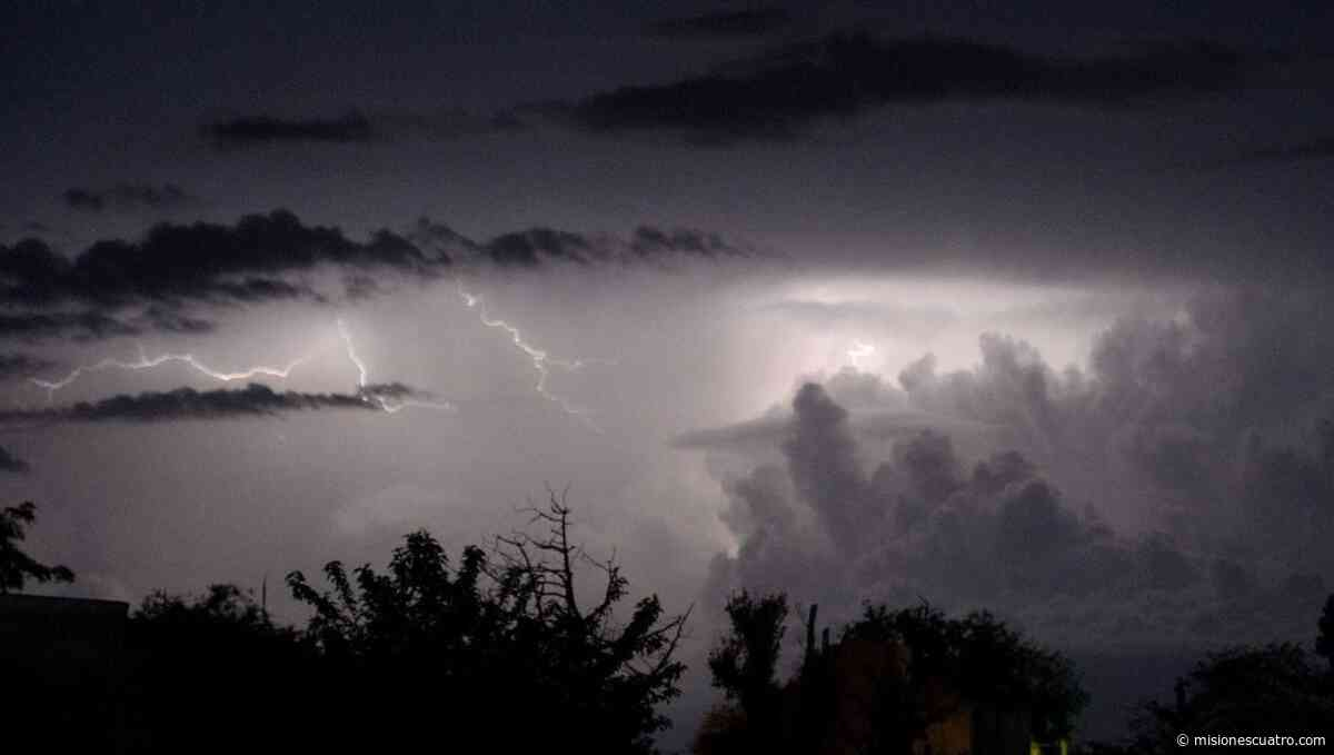 Tormentas en Misiones: Cerro Azul registró 150 milímetros de lluvia - Misiones Cuatro