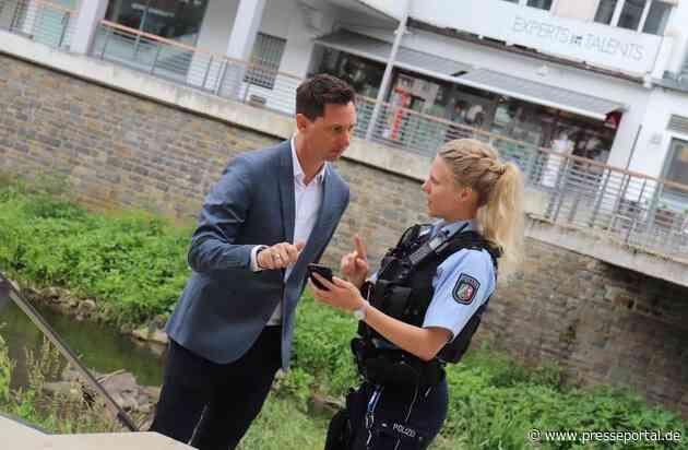 """POL-SI: """"Polizei-App"""" spart Zeit und Ressourcen - Nützlicher digitaler Helfer für den Polizeidienst -#polsiwi"""