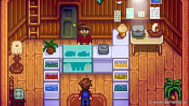 Stardew Valley: Das Geheimnis zu Update 1.5 ist in Willys Hinterzimmer - GameStar
