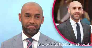 Alex Beresford returns to GMB studios for the first time since announcing split from wife Natalia - Entertainment Daily