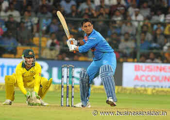 Mahendra Singh Dhoni's iconic moments caught on camera - Business Insider India