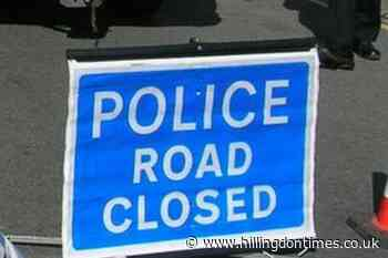Police at scene of crash on A41 near Dome Roundabout in Garston