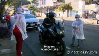 Blitz sanitária é realizada na região Centro-sul de Belo Horizonte - HORA 7