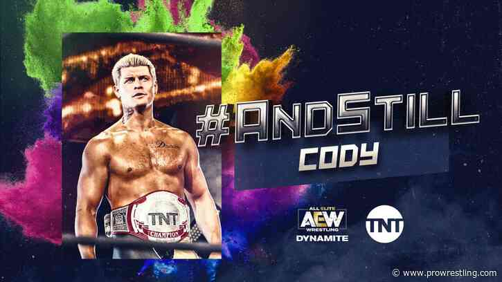 Cody Rhodes' Next Challenger For The TNT Championship Announced