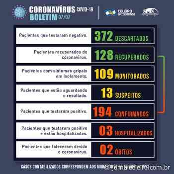 Campos Novos se aproxima de 200 casos confirmados para o Coronavírus - Jornal O Celeiro