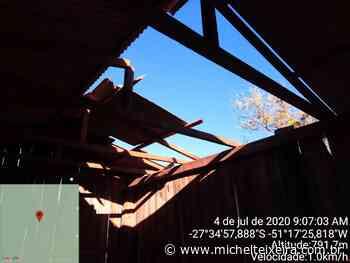 Defesa Civil de Campos Novos finaliza trabalho de vistorias em casas danificadas pelo temporal - Michel Teixeira