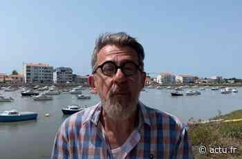 Jamy Gourmaud à Saint-Gilles-Croix-de-Vie pour le tournage d'une de ses capsules sur Youtube - Le Courrier Vendéen