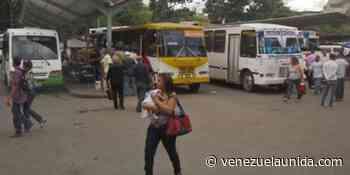 Reportan incendio en el terminal de Ocumare del Tuy #7Jun - http://venezuelaunida.com/