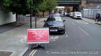 New 'Low emission neighbourhood' ignites strong feelings in Walworth - Southwark News