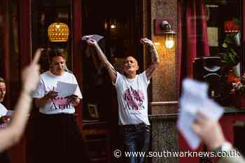 Regulars serenade Tooley Street pub after 'saving' it from closure - Southwark News