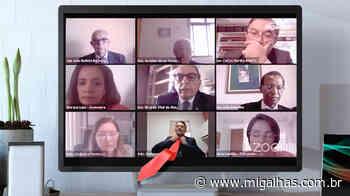 Advogado participa de julgamento sem gravata e é advertido por desembargador - Migalhas