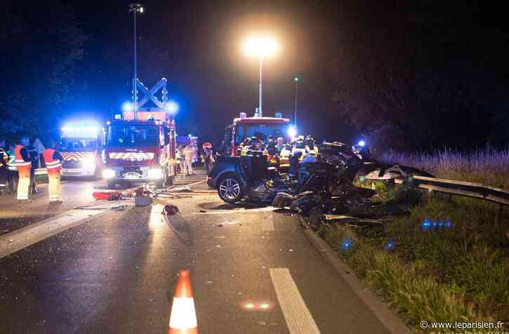 Senlis : quatre morts et trois blessés graves dans un accident de la route sur la D1330 - Le Parisien