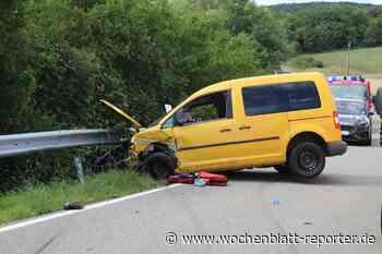 Verkehrsunfall auf L382 bei Reipoltskirchen: Gleich mehrere Verletzte - Wochenblatt-Reporter