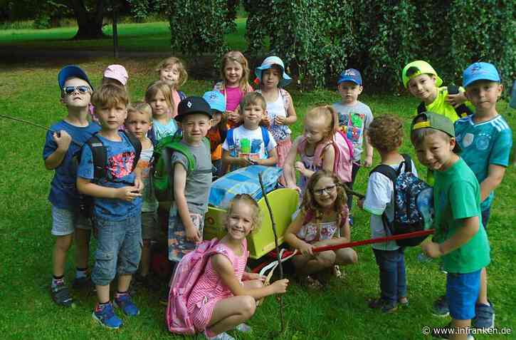 Kindergarten freut sich über Bollerwagen-Leihgabe