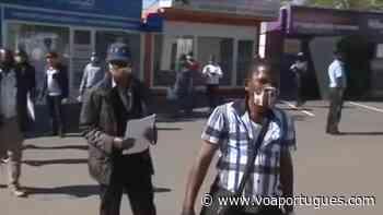 Mineiros moçambicanos regressam à África do Sul - Voz da América