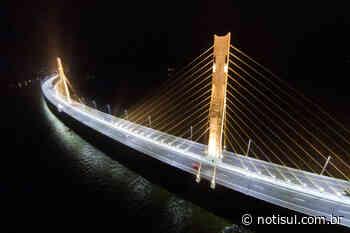 Pedágio deverá pagar a iluminação da ponte Anita Garibaldi - Notisul