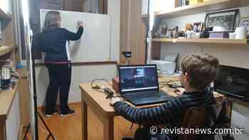 Atividades remotas estimulam professores e estudantes em Garibaldi - Revista News