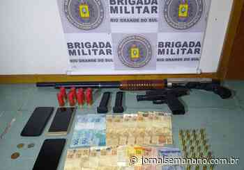 Trio armado é preso em Garibaldi – Jornal Semanário - jornalsemanario.com.br