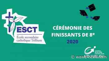 ÉSC Trillium graduating students celebrated – Wawa-news.com - Wawa-news.com