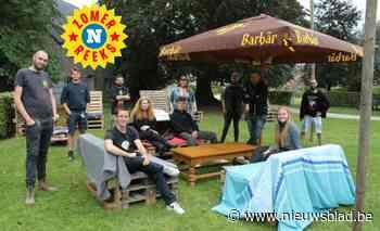 """Jeugdhuis palmt park in en geeft jeugdbewegingen de kans om er de zomerbar open te houden: """"Zo kunnen ze de kans spijzen"""" - Het Nieuwsblad"""