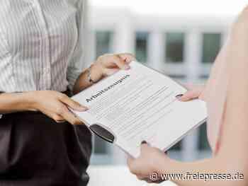 Welches Datum kommt auf das Arbeitszeugnis? - Freie Presse