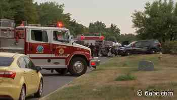 Two-vehicle crash leaves 1 dead in Swedesboro, New Jersey - WPVI-TV