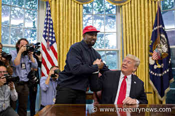 Kanye West says he no longer supports Donald Trump and that he had coronavirus - The Mercury News