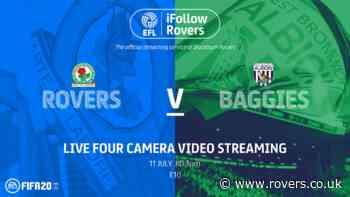 Match pass: Rovers v West Bromwich Albion