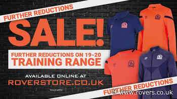The big training range sale is now on!