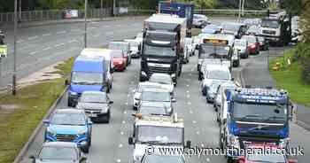 A38 crash causing rush hour traffic delays in Plymouth - latest updates - Plymouth Live