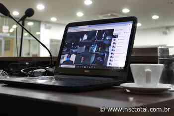 """Presidente da Câmara de Blumenau defende sessões remotas: """"Momento mais delicado da pandemia"""" - NSC Total"""