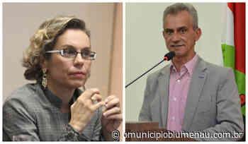 PT de Blumenau define apoio à Ana Paula Lima como prefeita e Vanderlei Oliveira como vice - O Município Blumenau