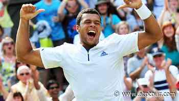 Wimbledon Flashback: Jo-Wilfried Tsonga Shocks Roger Federer - ATP Tour