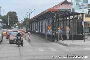 Reclamos por el supuesto lento avance de trabajos en la troncal 4 de la Metrovía de Guayaquil - El Universo