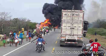 Lo que hay detrás del accidente de Tasajera en la Troncal Caribe - Semana