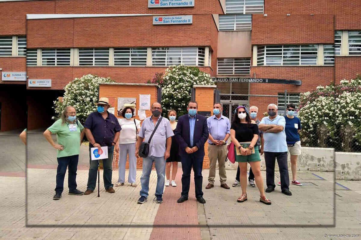 El Centro de Salud San Fernando II de Henares cerrará la Atención Primaria a las 18 horas - Soyde.