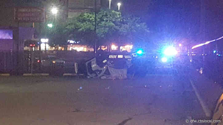 Dallas Police Officer Recovering After Being Injured In Rollover Crash