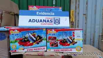 Talcahuano: decomisan 3.600 juguetes y 100 parlantes que falsificaban reconocidas marcas - Diario Concepción