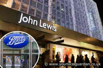 John Lewis and Boots to cut 5,300 jobs and shut UK shops