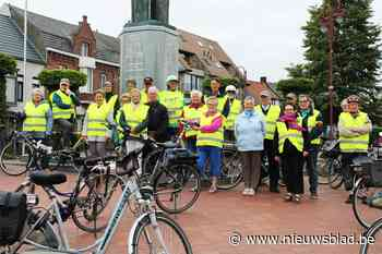 Vief en Burgersgilde gaan samen fietsen (Lichtervelde) - Het Nieuwsblad
