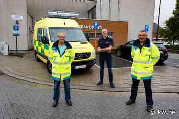 """Brandweer Lichtervelde werft vier hulpverleners-ambulanciers aan: """"Als ambulancier kan je nog echt h - Krant van Westvlaanderen"""