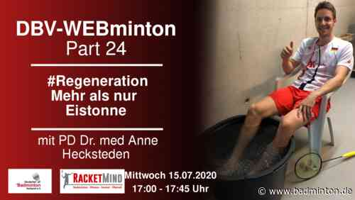 DBV-WEBminton: #Regeneration