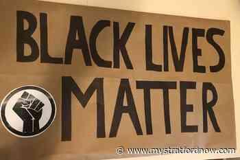 "Stratford Police searching for stolen ""Black Lives Matter"" sign - My Stratford Now"