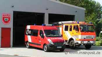 Fabrikneues Auto für die Wehr in Gaukönigshofen - Main-Post