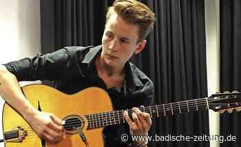 19-jähriger Musiker erhält Stipendium - Wehr - Badische Zeitung