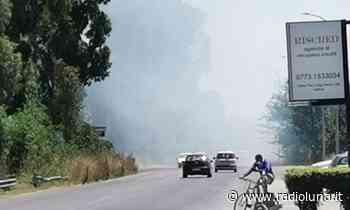 Incendio di sterpaglia, il fumo invade la Monti Lepini a Latina | Luna Notizie - Notizie di Latina - Lunanotizie