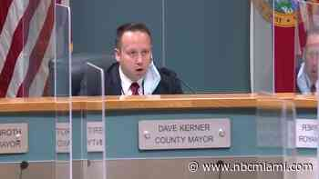 Woman Accuses County Mayor of Holding Up 'WTF' Sign During Meeting