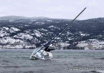 Stranded Summerland sailboat victim of mother nature, owner says - Penticton News - Castanet.net