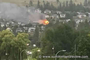 Okanagan home destroyed by fire – Summerland Review - Summerland Review